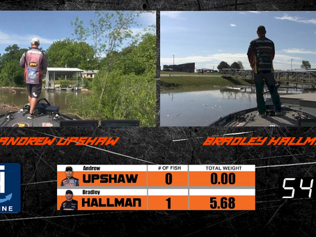 1 ON 1 LIVE - ANDREW UPSHAW VS. BRADLEY HALLMAN