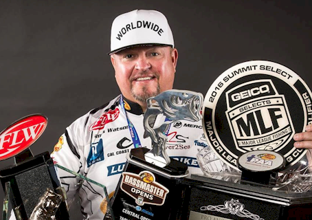 "MEGAWARE KEELGUARD SIGNS ""WORLDWIDE"" WATSON TO MLF ANGLING TEAM"