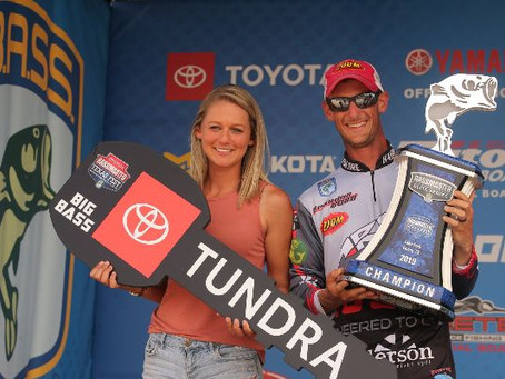COBB WINS SECOND ELITE TITLE AT LAKE FORK