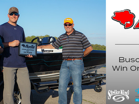 BUSCH AND CARTER WIN 2019 BASS CAT OWNERS INVITATIONAL
