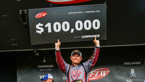 UPSHAW WINS FLW TOUR STOP AT CHEROKEE