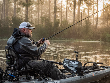 FLW AND KBF ANNOUNCE INITIAL SPONSORS FOR KAYAK FISHING EVENTS