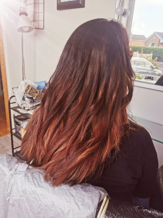 Tape extensions for colour