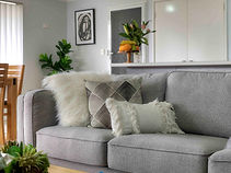 Styled couch