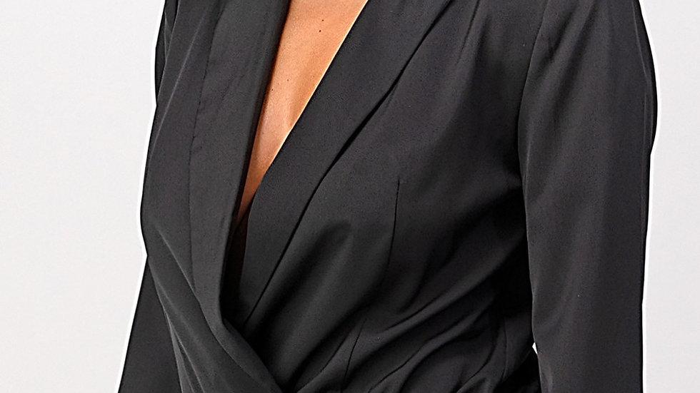 Deal Closer |Blazer Bodysuit