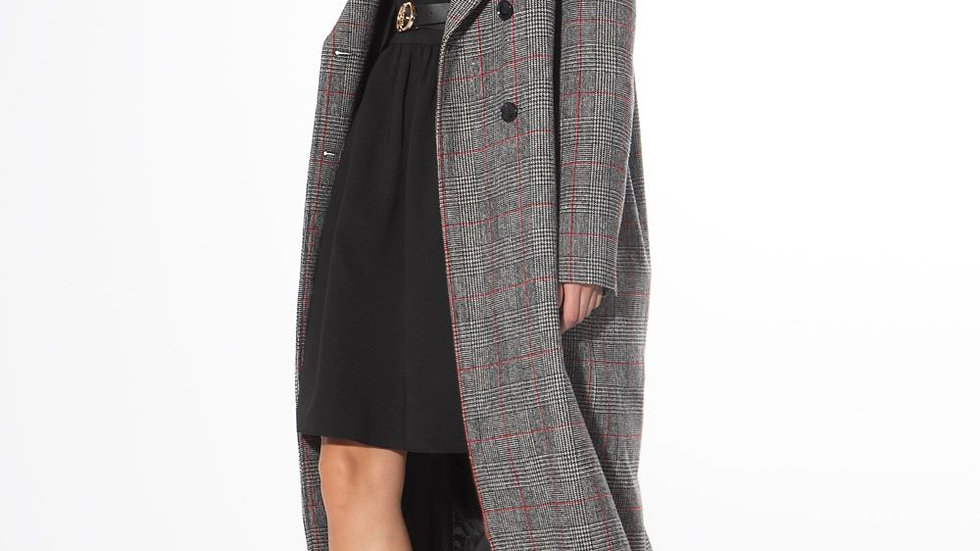 Rose & Plaid | Over coat