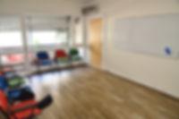 Spacious Arabic classroom