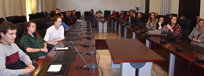 Arabic students visit the Amazigh Cultural Center