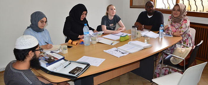 Students study Arabic for specific purposes
