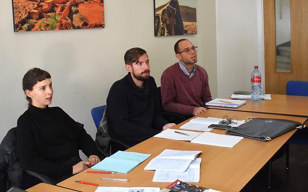 Diplomatic Arabic students study the full range of the Arabic language