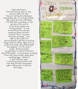 Strategy for Writing Sticky Notes