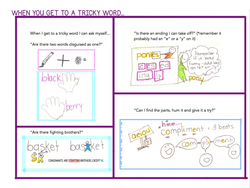 Strategy Chart-Harder Tricky Words