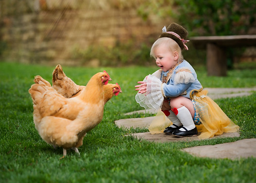 Chicken and Kid