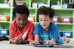 Diverse student classroom, Kindergarten,