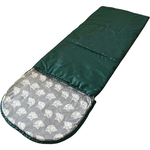 Спальник детский изумрудно-зеленый
