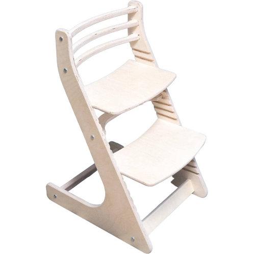 Растущий стул Натуральный