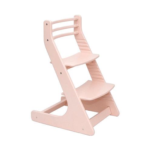 Растущий стул Нежно-розовый
