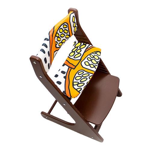 подушки чехлы на растущий стул горыныч Апельсинка