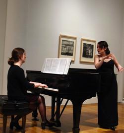 with soprano Elif Savas