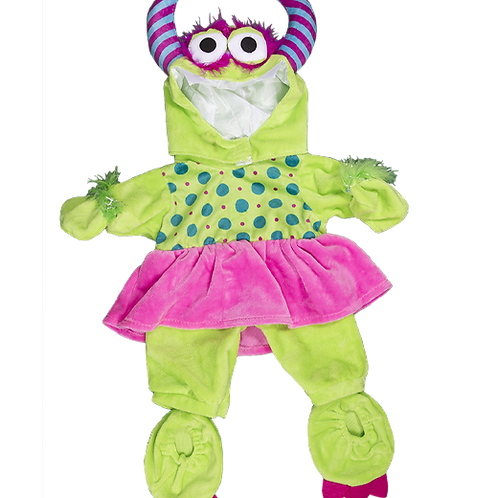 "Girlie Monster Costume (16"")"
