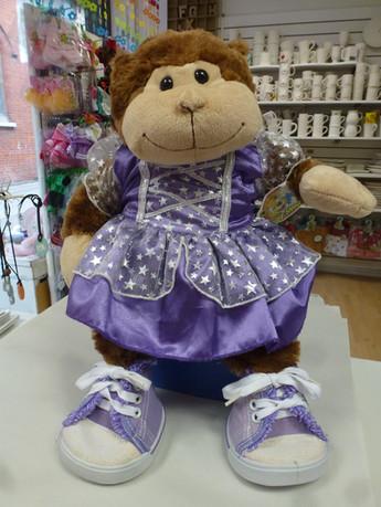 Monkey buildabear dressed as a fairy