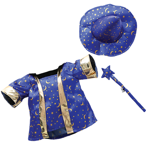"""Wizard Costume with Wand (8"""")"""