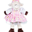 "Thumbnail: Plaid Pinafore With Bow Headband (16"")"