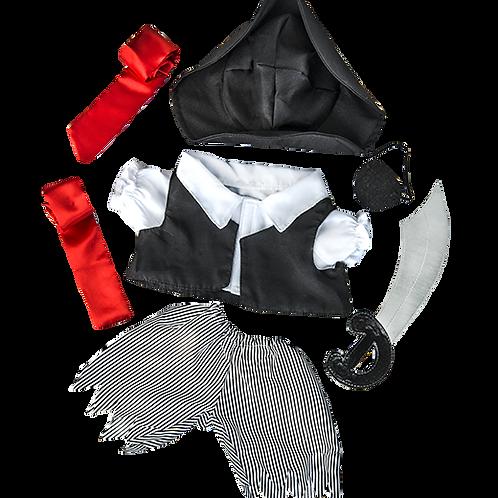 "Pirate Boy Costume (8"")"