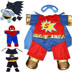 buildabear superhero outfits