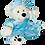"Thumbnail: Snow Princess Dress (16"")"