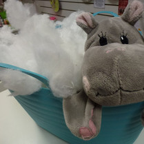 hippo buildabear skin and stuffing