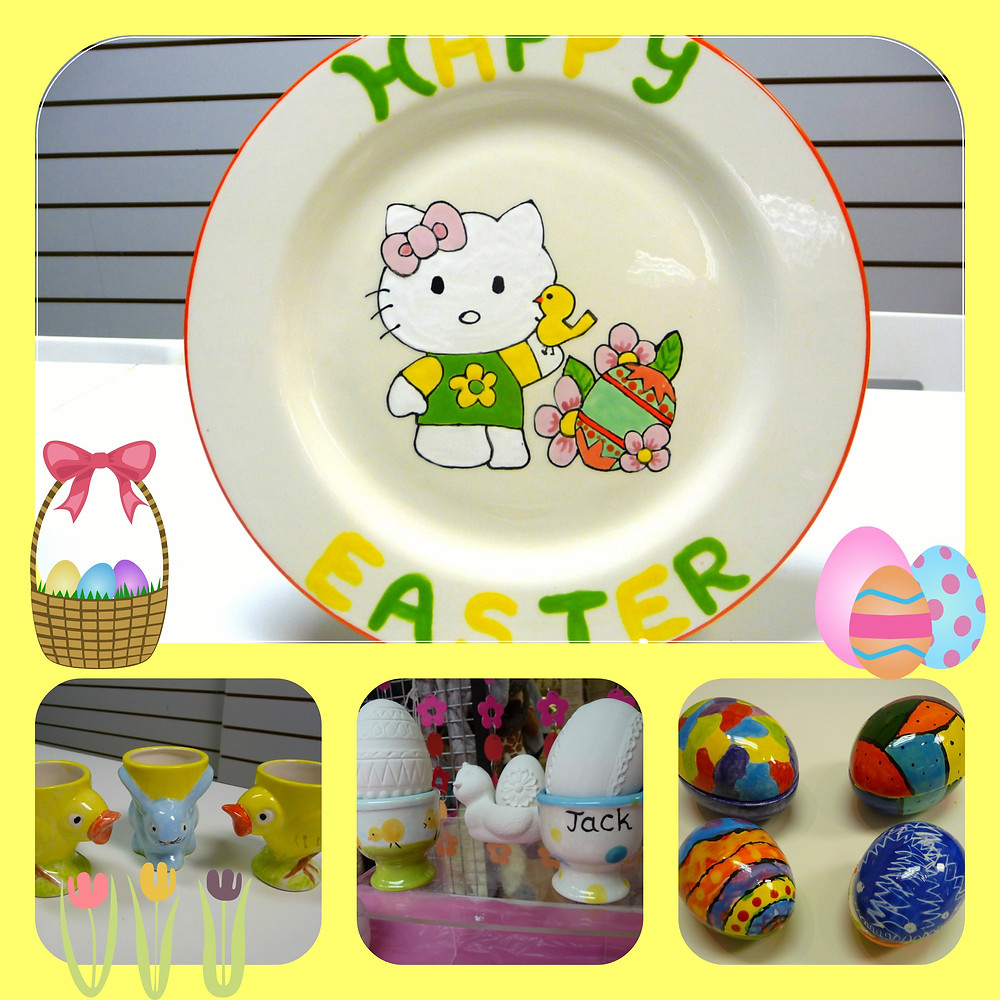 easter collage