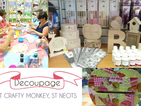 Decoupage- Another Crafty Activity!