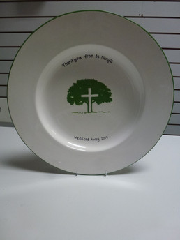 Commissioned signature plate