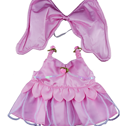"""Pink Butterfly Outfit (16"""")"""