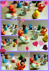 Selection of our popular party animals