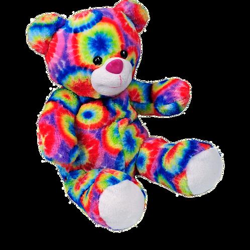 """Rainbow the Bear (8"""")"""
