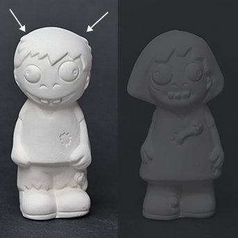 Zombie Boy Figure