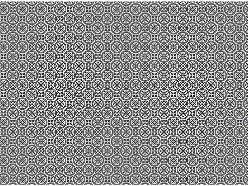 Decoupage Paper Paris Circle Tiles