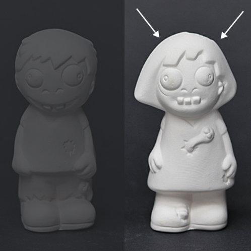 Zombie Girl Figure