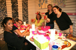 pottery painting hen do