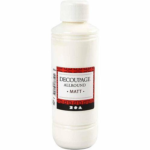 Decoupage Varnish Glue (1oz Pot)