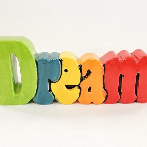 Dream Word Plaque