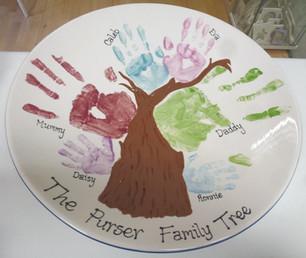 handprint family tree