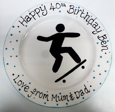 40th birthday personalised gift