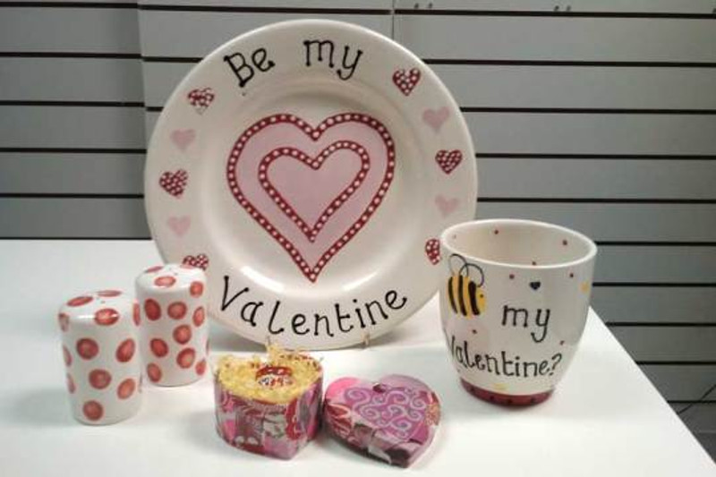 Hand Painted Personalise Pottery