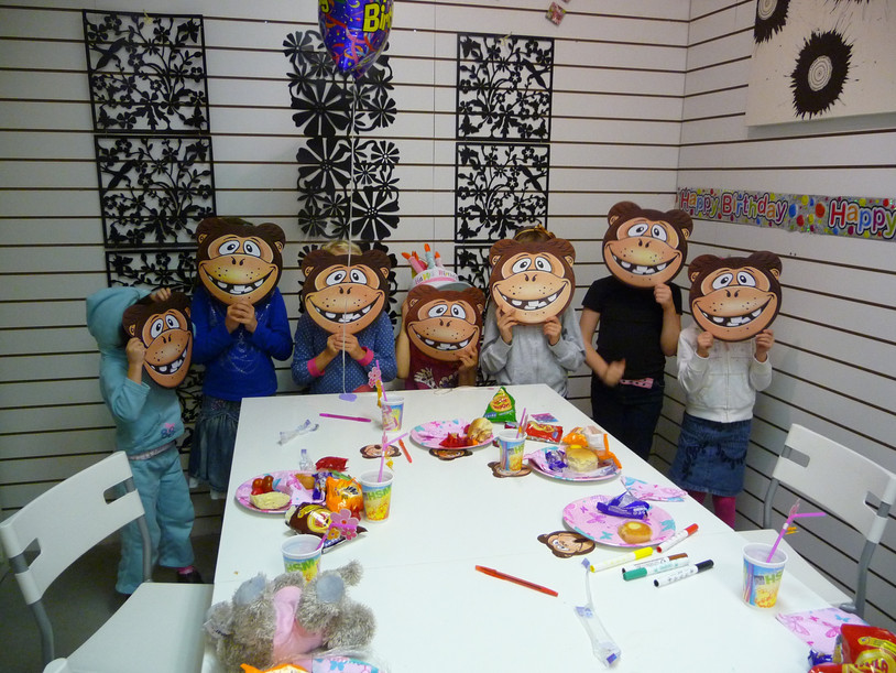 Buildabear party at Crafty Monkey