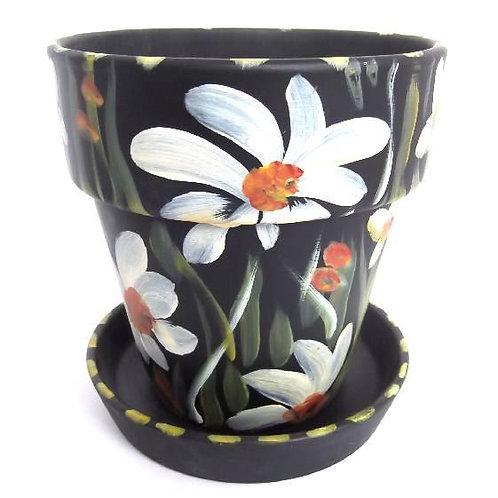Medium Flower Pot and Saucer+CC92:C116