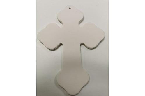 Cross hanging plaque