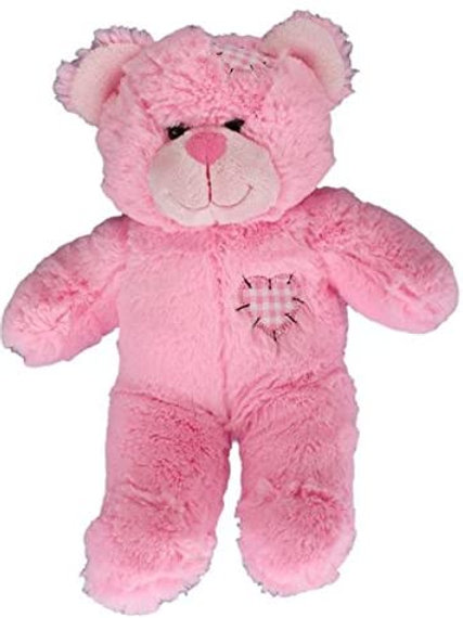 "Pink Patches Bear (8"")"